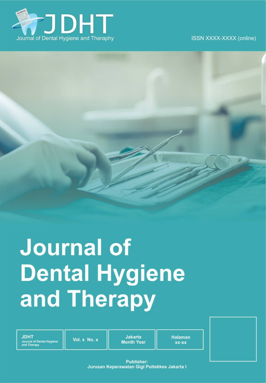 View Vol. 2 No. 1 (2021): JDHT Journal of Dental Hygiene and Therapy
